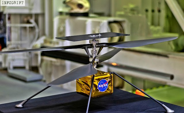 """A chopper on """"MARS"""": looks crazy, however, NASA made it come true... will be sent with Mars Rover in 2020 and take flight in 2021"""