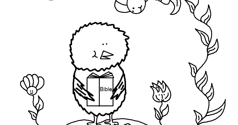 Church House Collection Blog: Chick Coloring Page Psalms