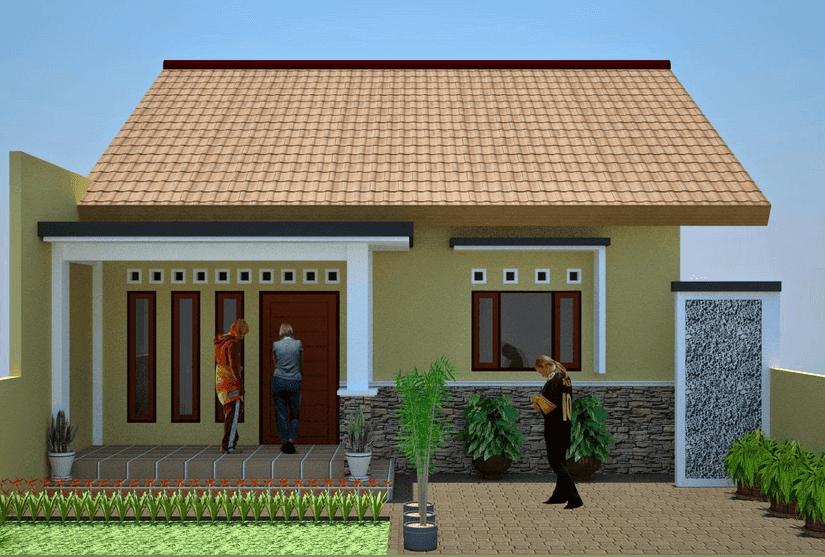 35 bentuk rumah sederhana ukuran 6 x 9 berkonsep minimalis