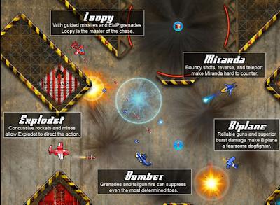 飛機大亂鬥(Altitude),節奏明快的飛行射擊遊戲!