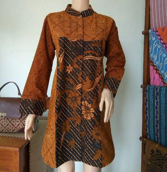 jual baju batik wanita jumbo untuk kerja kantor ea19eb99d5