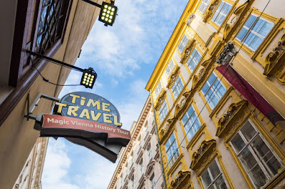 Time Travel Vienna by Laurence Norah