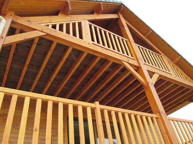 Maison ossature bois AMDT - Terrase extérieur