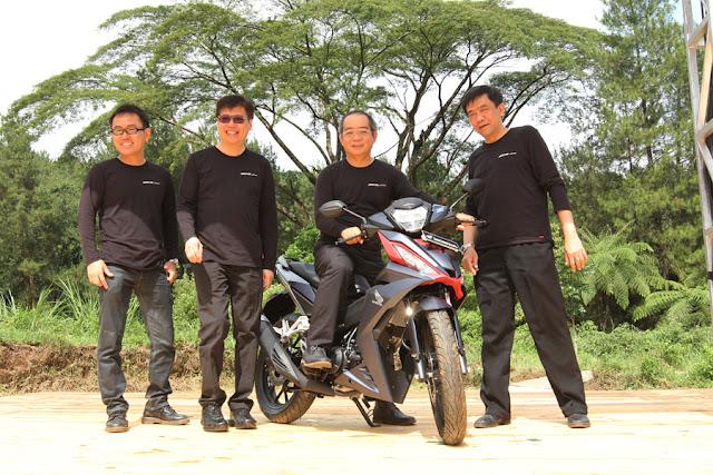AHM Luncurkan Motor Petualang All New Honda Supra GTR 150