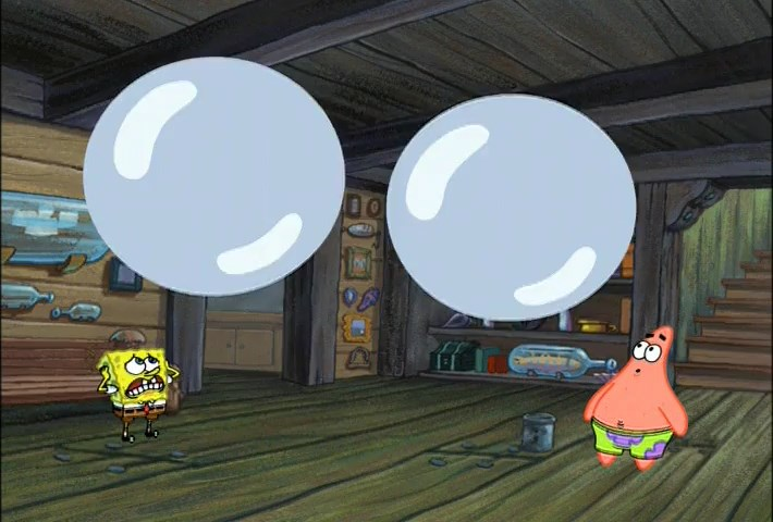 SpongeBob Season 3 Episode 10A - Wet Painters SD 480p Dub Indo