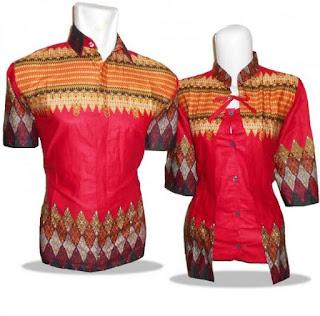 Trend Baju Batik Pasangan Kombinasi Terbaru