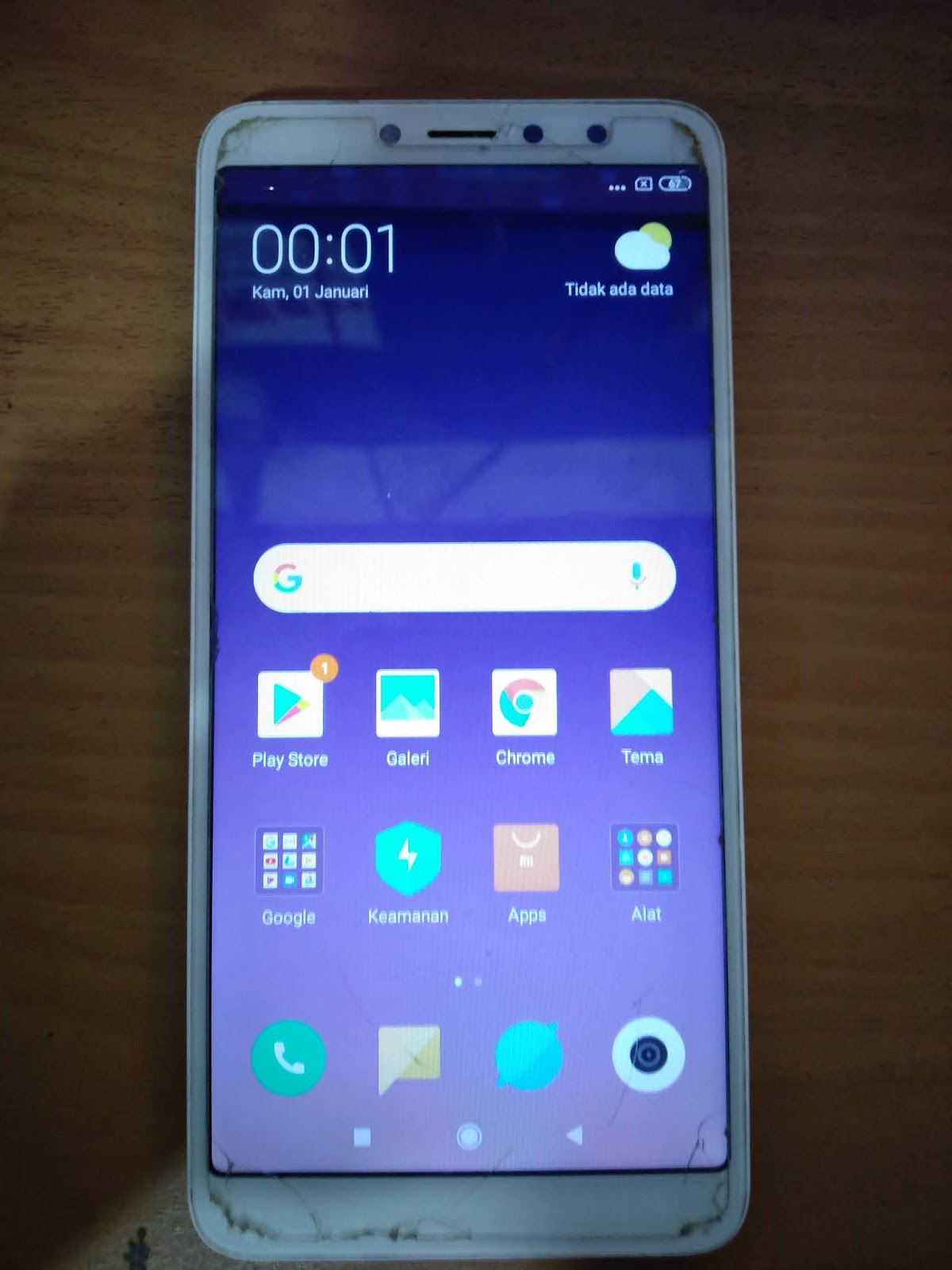 Flash Ulang Xiaomi Redmi S2 YSL