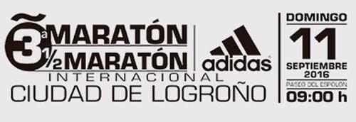 Maratón Ciudad de Logroño - 11 de Septiembre