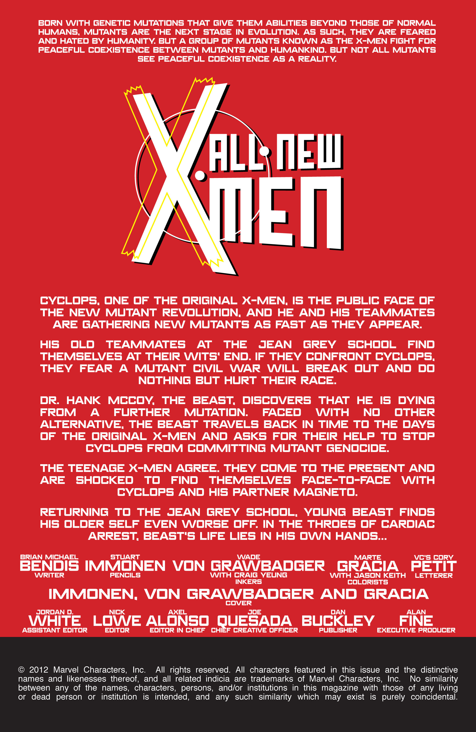 Read online All-New X-Men (2013) comic -  Issue # _Special - Yesterday's X-Men - 85