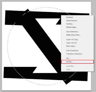 tutorial cara membuat logo dengan photoshop hanya 1 menit