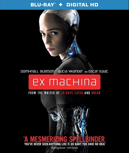 Poster Of Ex Machina 2015 English 300MB BRRip 480p Free Download Watch Online