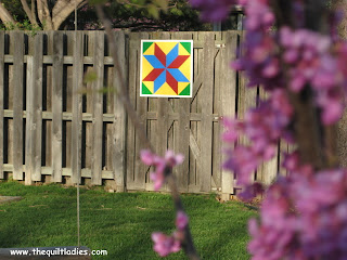 Making a Barn Quilt on a Fence