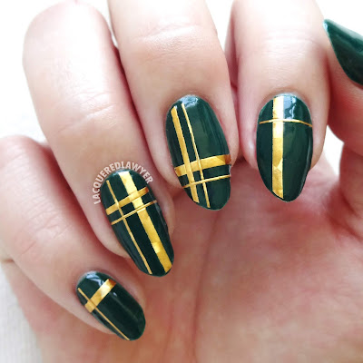 Slytherin Style Nails