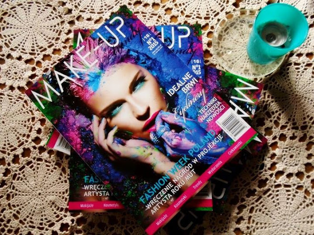 Czy naprawdę warto kupować czasopisma branżowe?!  [Make-up trendy + makijaż inspirowany ]