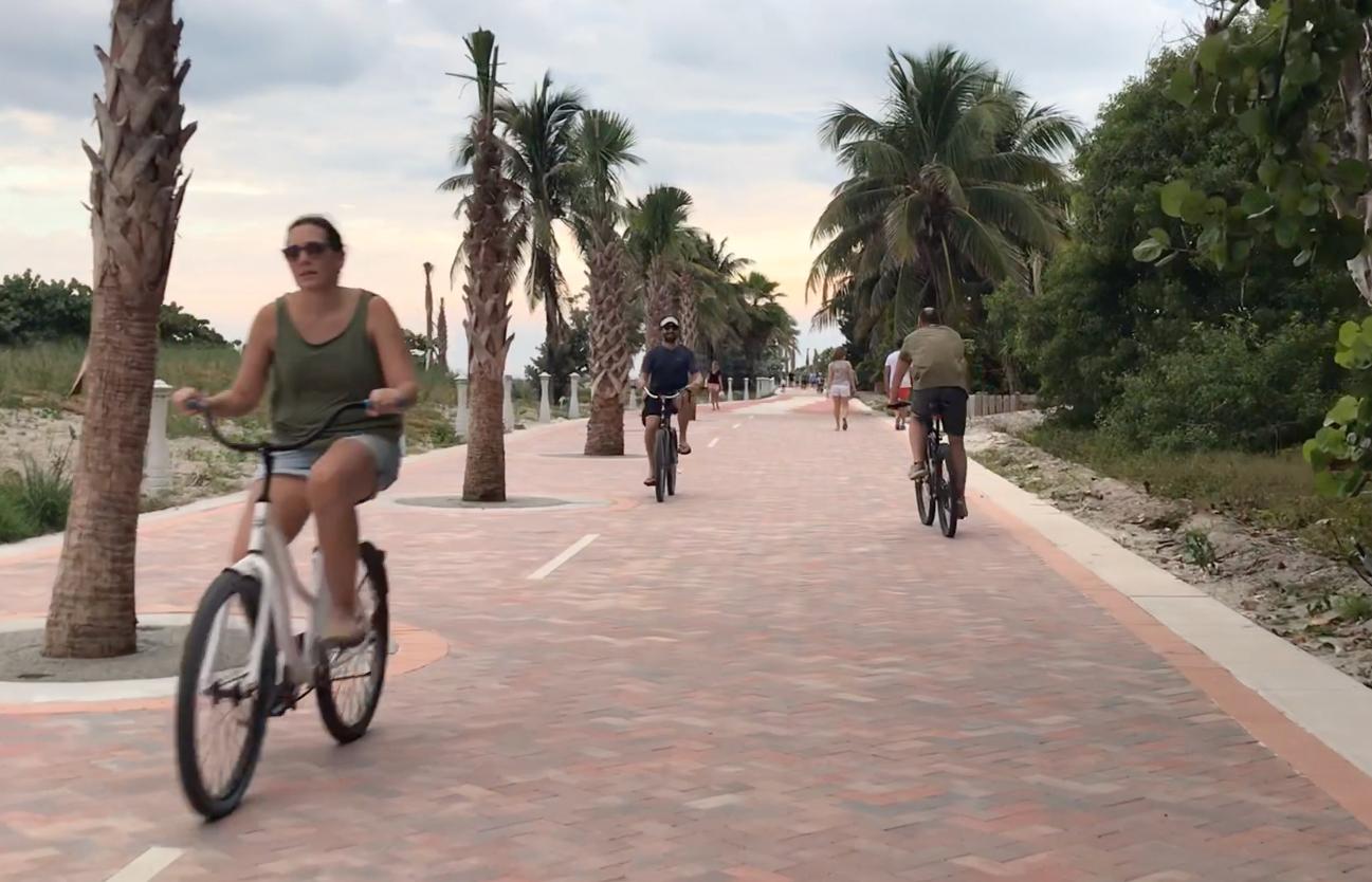 Beach Recreational Corridor Beachwalk