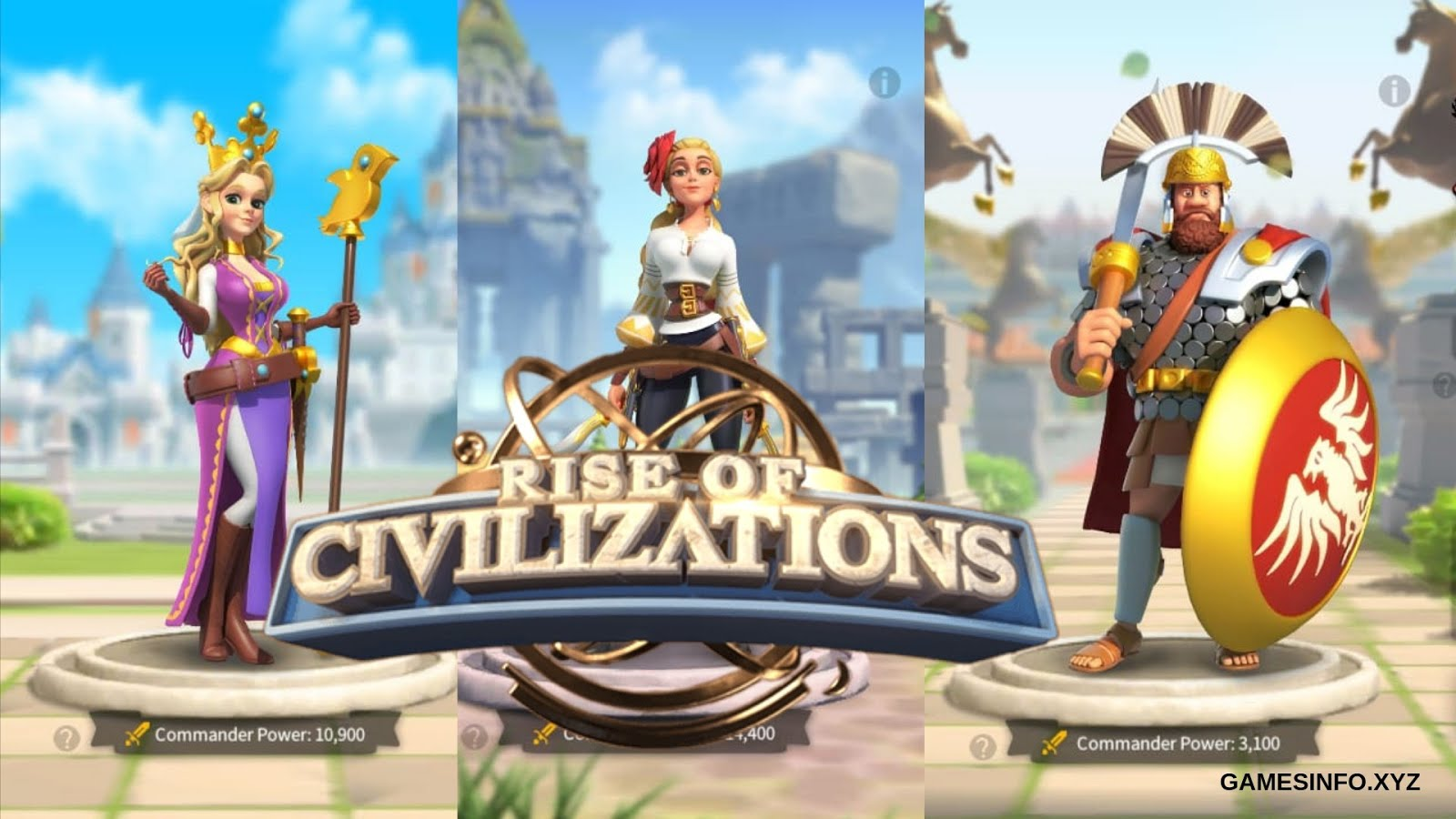 Best Free To Play Gathering Commanders Rise Of Civilizations