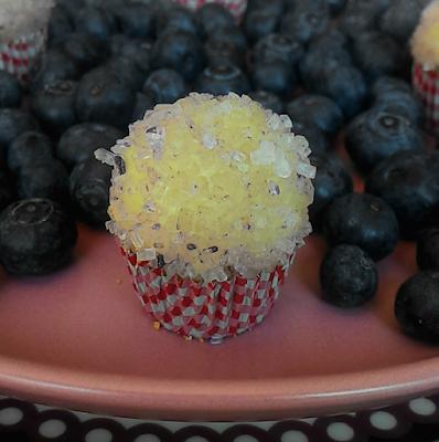Brigadeiro de  blueberries