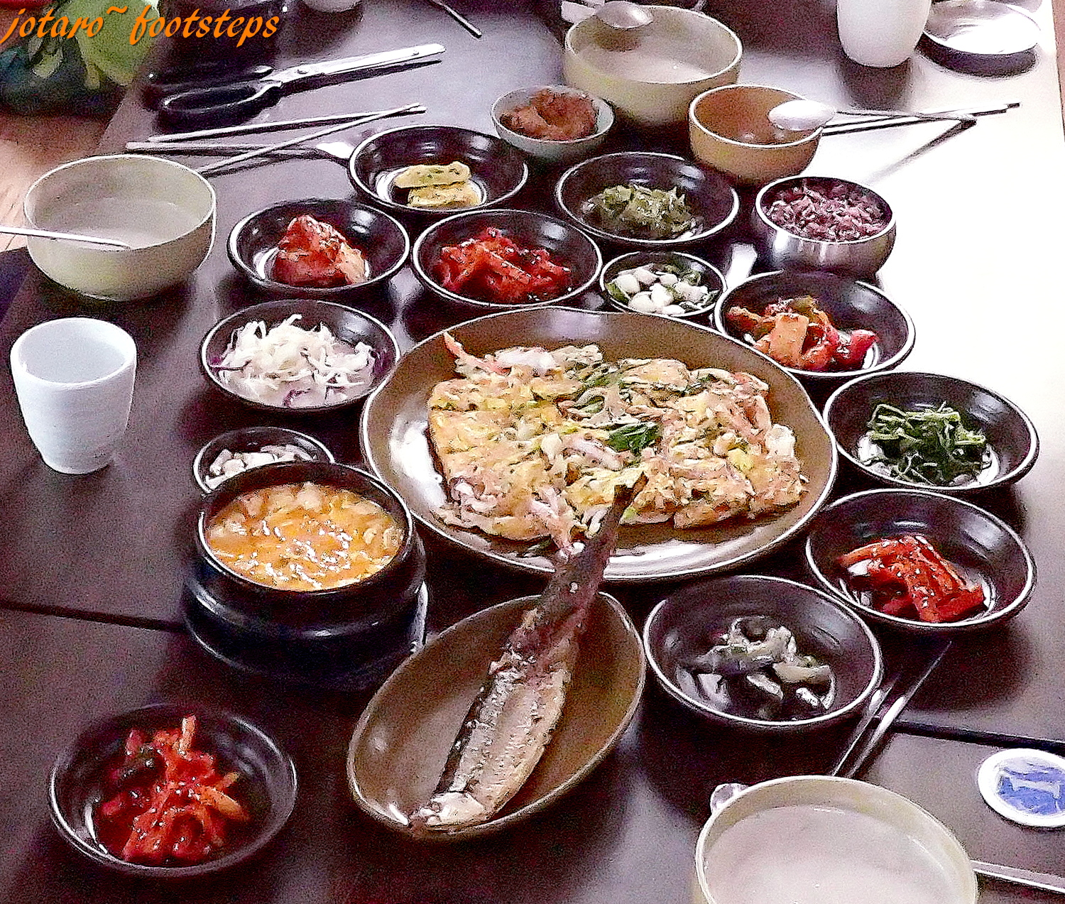Footsteps jotaro 39 s travels yummy korean traditional for Authentic korean cuisine