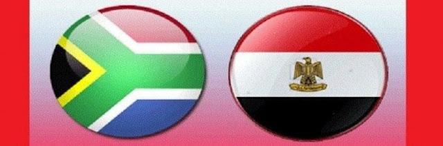 شاهد مباراة مصر وجنوب افريقيا بث مباشر الثلاثاء 6 سبتمبر 2016 - مباراة ودية دولية