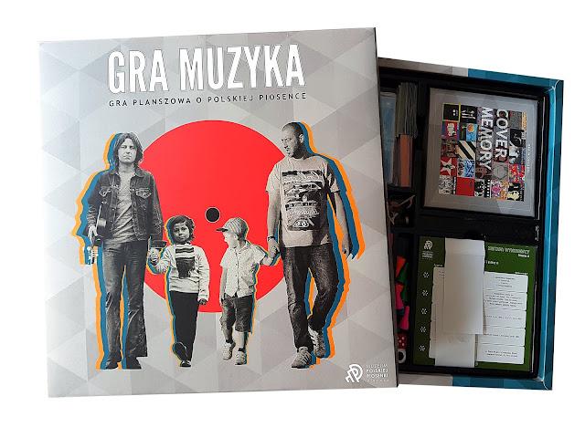 GRA MUZYKA - pierwsza gra planszowa o polskiej muzyce