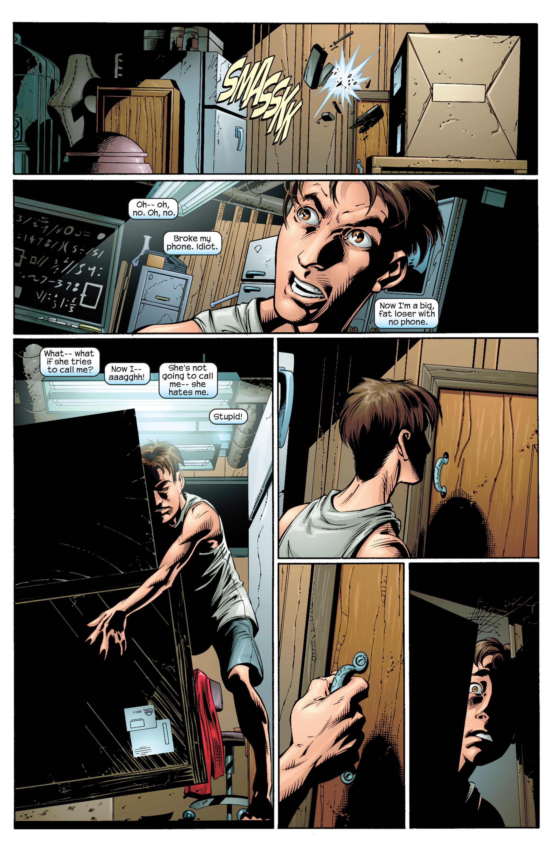 Read online Ultimate Spider-Man (2000) comic -  Issue #33 - 5