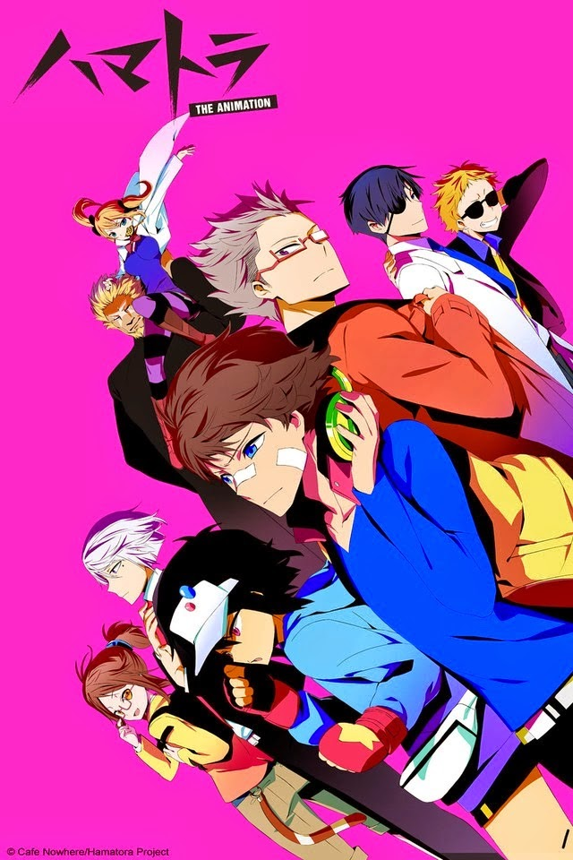 cover anime Hamatora: The Animation