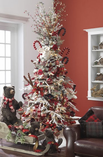 Color Outside The Lines Georgeous Christmas Tree Inspiration