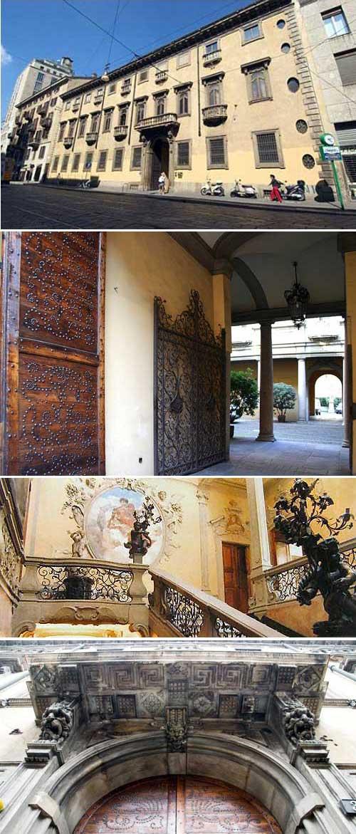 Ilclanmariapia il diavolo ha abitato a milano for Palazzo in stile spagnolo