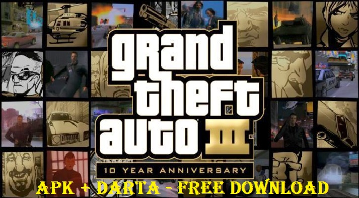 Download GTA 3 Apk Data Game