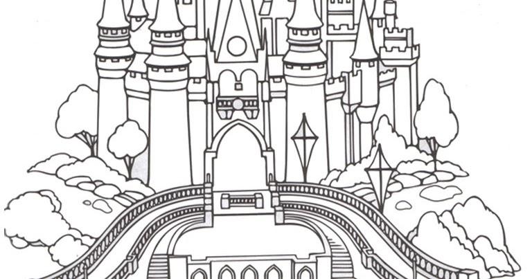 Mewarnai Gambar Istana Pewarna D