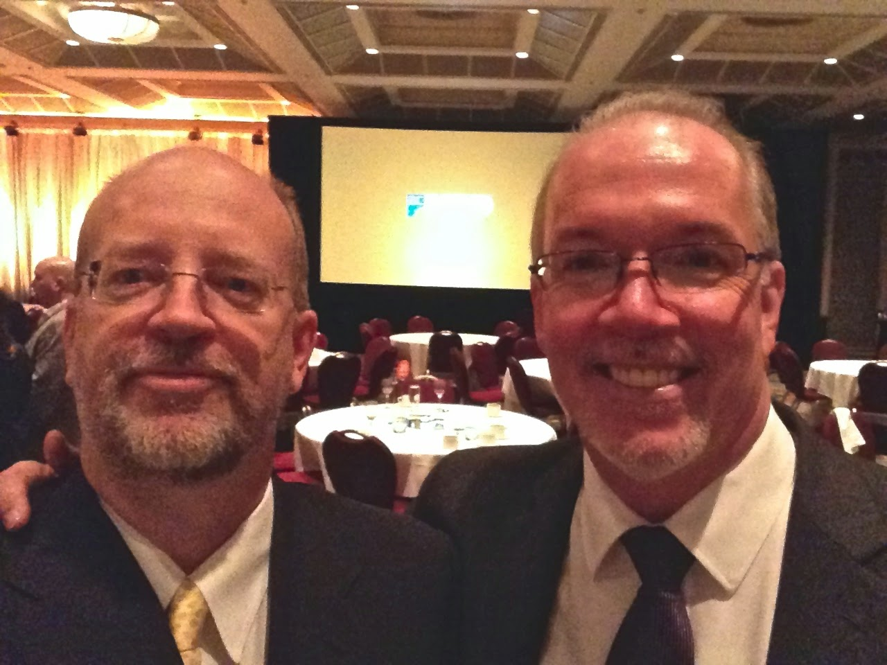 Bill and BC NDP Leader John Horgan