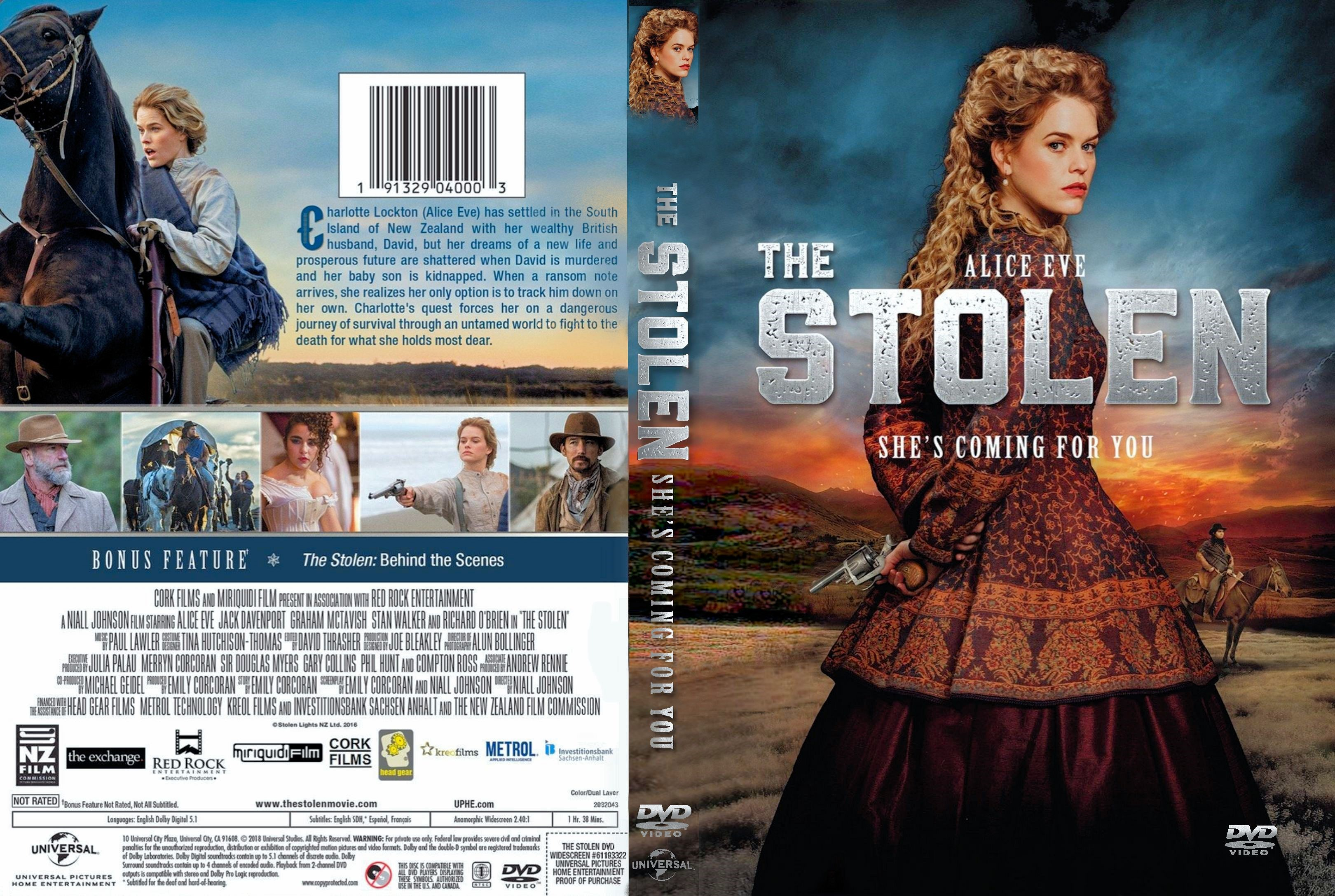 The Stolen DVD Cover | Cover Addict - Free DVD, Bluray ...