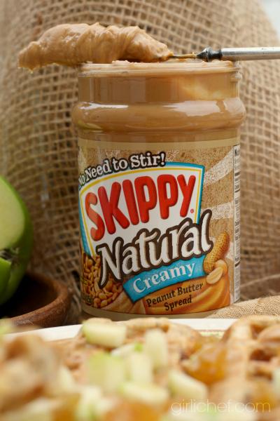 Peanut Butter Apple Raisin Waffles w/ Chia Seeds + a Better Breakfast Month Giveaway
