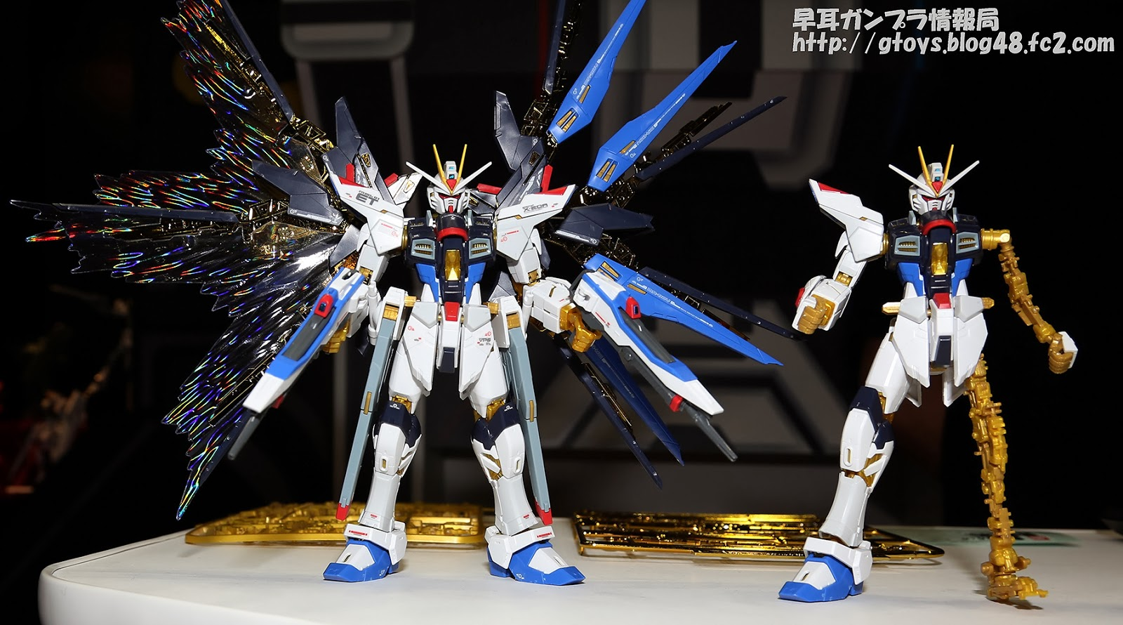 P-Bandai: RG 1/144 Strike Freedom Gundam Full Burst Mode Add On Unit ...