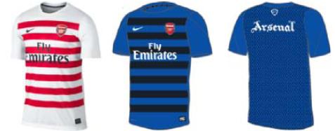 9149a12e7e2 Arsenal 13 14 Training Kits Leaked - Footy Headlines