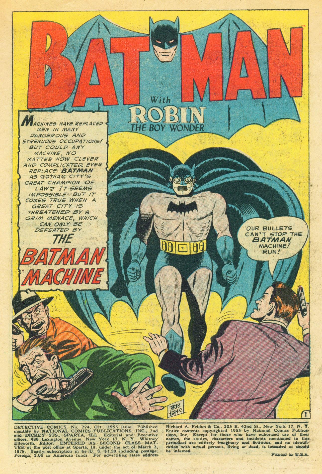 Detective Comics (1937) 224 Page 2