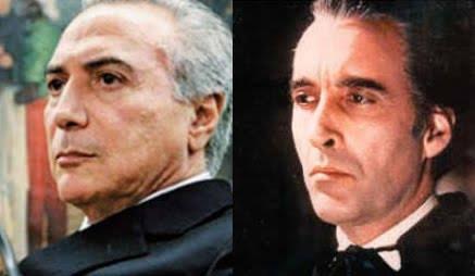 Surrealismo brasileiro: o vice que faz articulação para depor a presidente