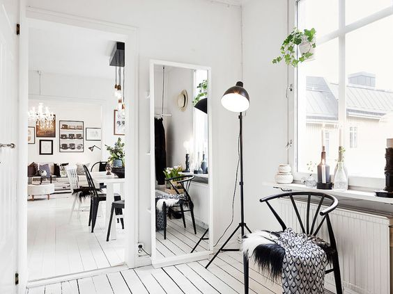 mirror in small space