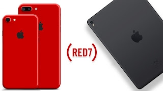 RED iPhone 7 Color & New iPad Pro 2's Coming March