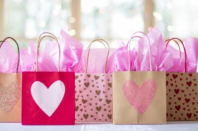 Bolsas con regalos