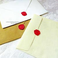 Venta de sellos de cera lacre rojo con monograma de iniciales de venta en guatemala