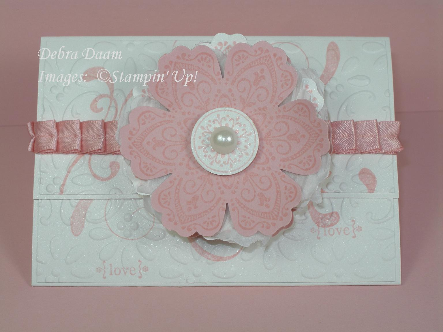 Wedding Gift Cards Online: Debra's Stamp Life: Wedding Shower Gift Card Holder