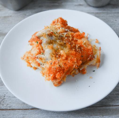 KETO CHICKEN PARMESAN CASSEROLE #keto #parmesan