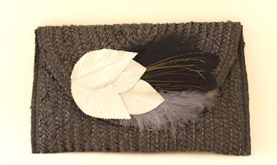 OI 1617 - Coleccion Negra Pavo Real - Bolso Cartera