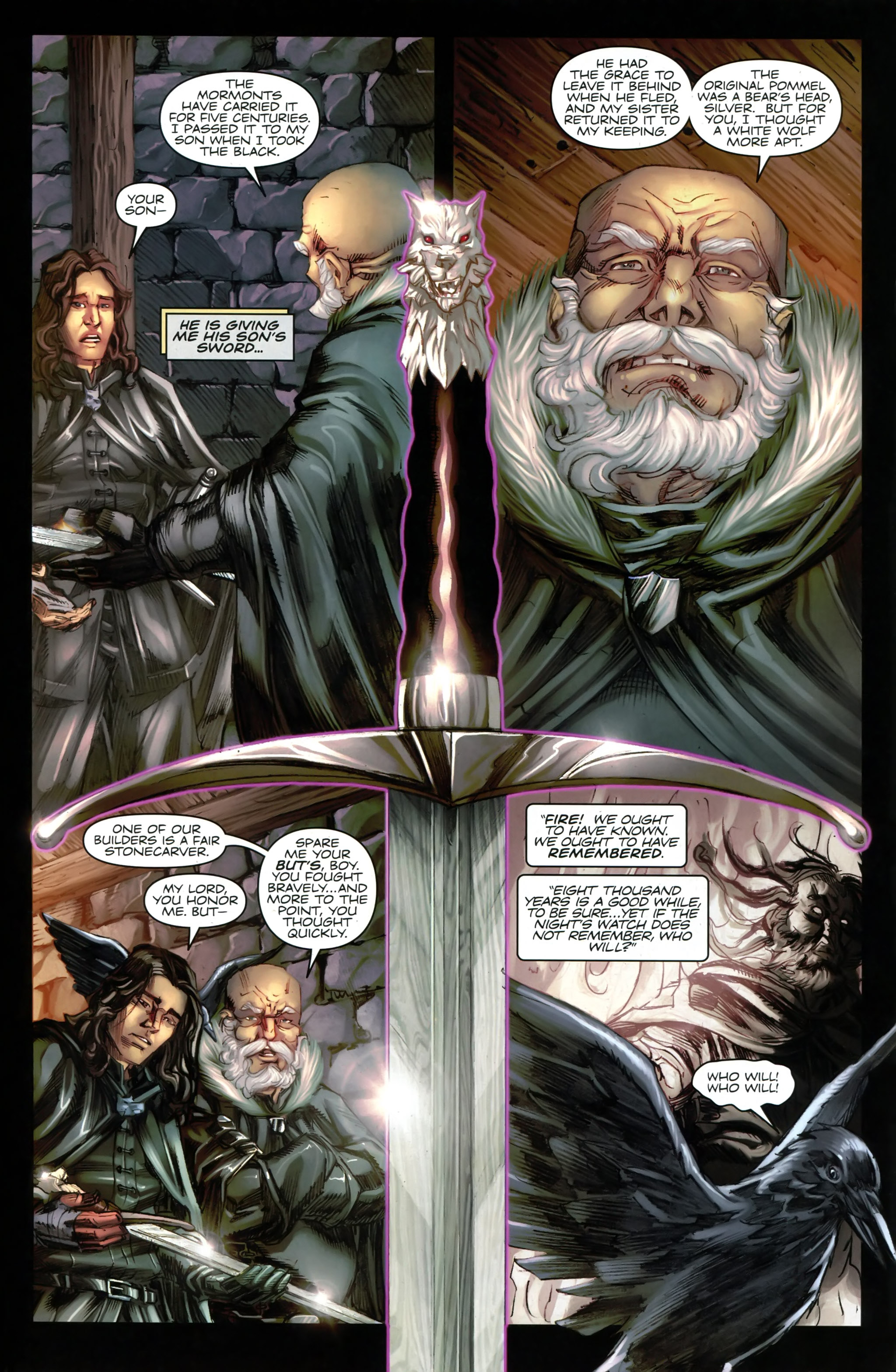 Read online A Game Of Thrones comic -  Issue #20 - 22