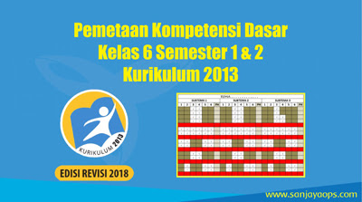 Pemetaan-kd-kelas-6-semester-1-&-2-2018