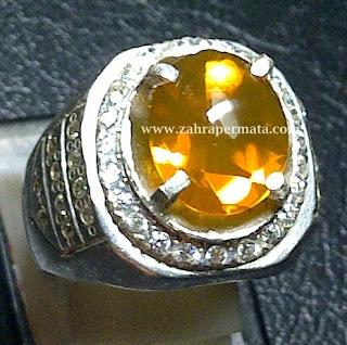 Cincin Batu Permata Fire Opal Wonogiri - ZP 398