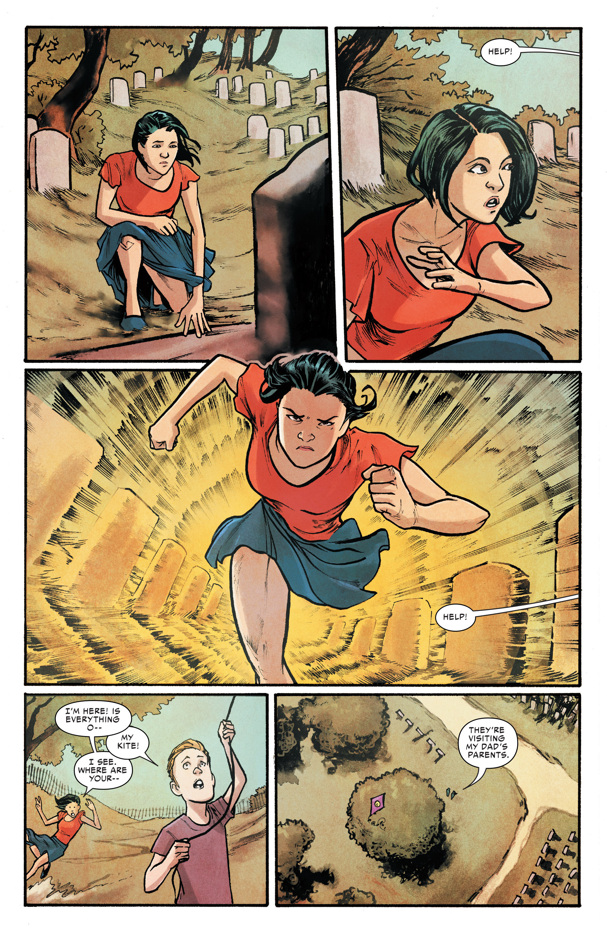 Read online Silk (2016) comic -  Issue #18 - 17