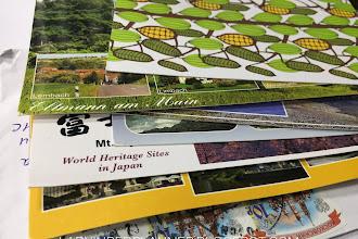 Daftar Postcard Di Postcrossing