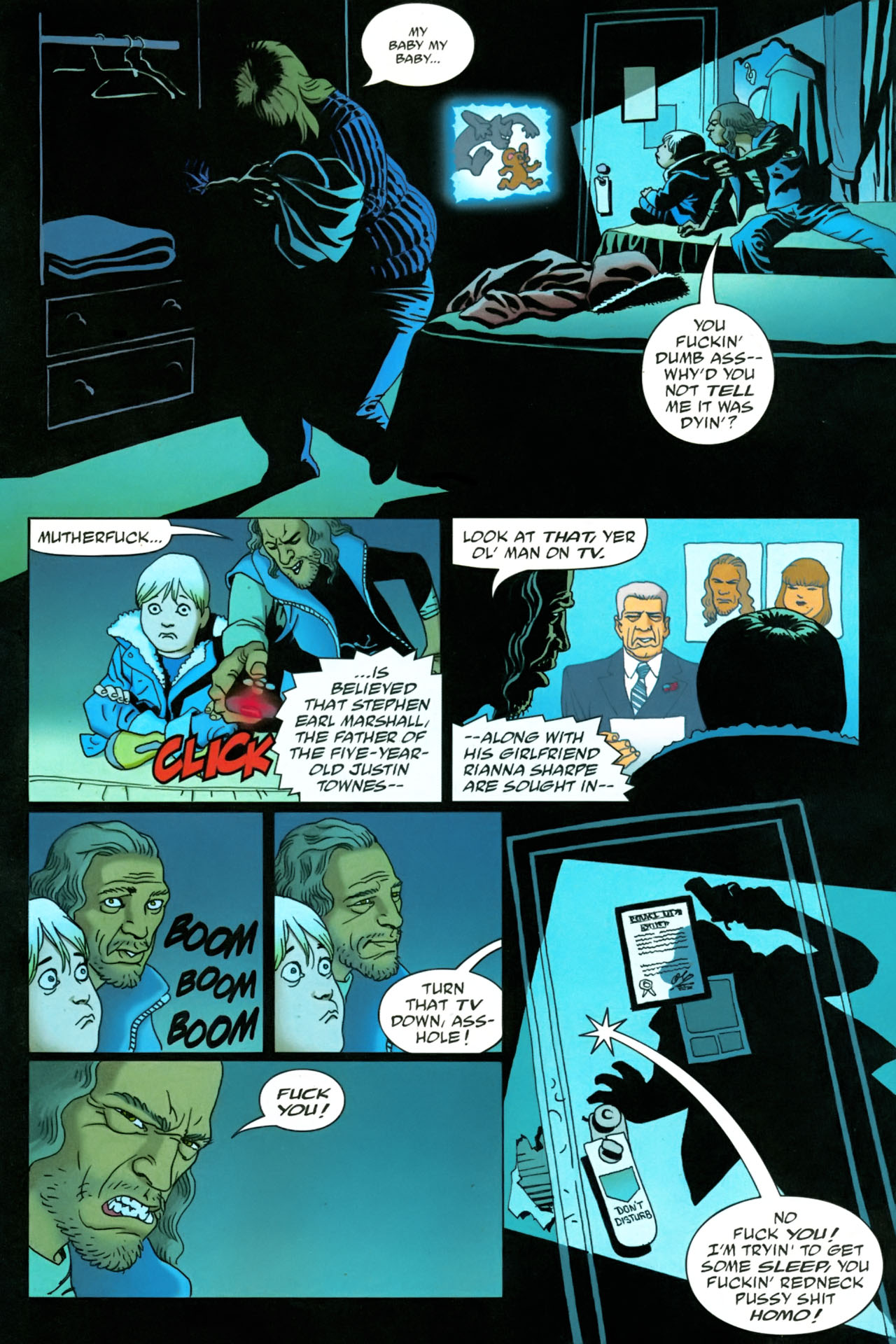 Read online 100 Bullets comic -  Issue #86 - 17